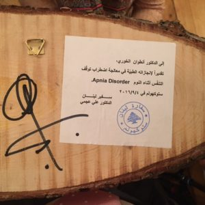 Libanesiskt pris